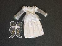 Age 4-6 years child's Christmas angel costume