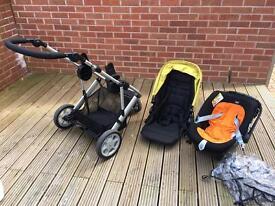 Mamas & Papas Pushchair Travel System Set