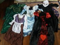 Job lot of mixed dressing up clothes great condition