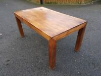 NEXT Solid Wood Table FREE DELIVERY 118