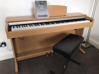 Yamaha YDP-141 Digital Piano - Stool Included - Mint Condition