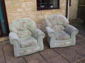 Pair of great armchairs