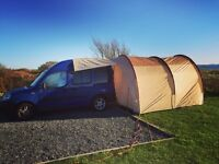 Fiat Doblo Campervan conversion. Daily car/weekend campervan