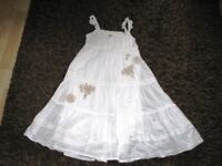Lovely Girls Strappy Summer Dress by NEXT - 10 Years - Great Condition