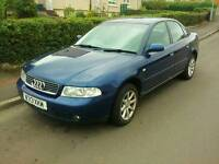 Audi A4 Blue 1.9TDi 5Spd Manual