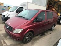 MERCEDES VITO-109-111-113CDI 2003-2015REG BREAKING FOR PARTS!!!!!