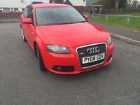 Audi A3 Sline 2008 2.0 diesel(138bhp)S Tronic Red + Extras