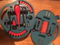60 pce Ratchet Socket and Drill Bit Set
