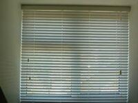 Three Venetian blinds ex Blinds2Go