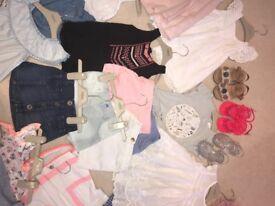 12-18 girls summer clothes bundle