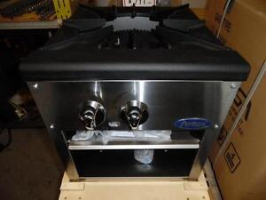 Stock Pot Single Burner Brand New Natural Gas or Propane Atosa