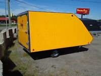 2015 Mission Trailers 12ft Sled/ATV Enclosed Trailer