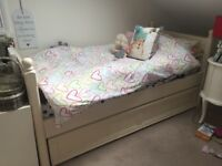 ASpace Single bed and trundle Bed