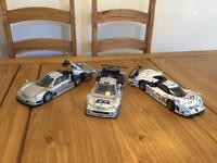 1/18 Scale Model Cars x 3