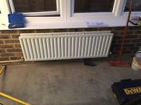 Double radiator 17 inch h x 50.5 inches wide