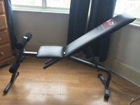 Adjustable Weight Bench, Incline/Decline