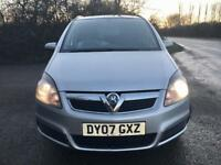 For sale Vauxhall Zafira 1.8 petrol 127k on the clock service history 12 months Mot