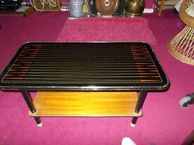 Retro Vintage 1960's coffee table