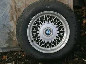 BMW alloy. Brand new with tyre. Dunlop TD230/55ZR390