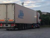 Price Reduced! Gray & Adams 40ft Refrigerated Box Trailer Carrier Fridge - 45ft internal container