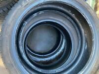 225/40/19 Goodyear rum flat tyre 7mm