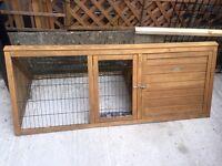 Rabbit Guinea pig run hutch