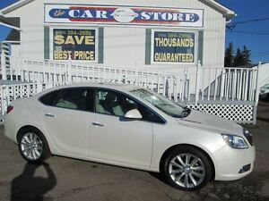 2014 Buick Verano SUNROOF!! NAV!! PARTIAL HEATED LEATHER!!