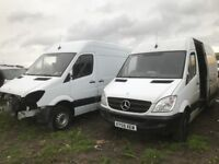 Mercedes sprinter euro 4 euro 5 breaking