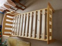 Mothercare Toddler Bed, 140 x 70 cms, Pine coloured