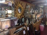 460++ different New mirrors in many shapes & sizes silver gold black.. from £5-£499 ALL IN STOCK