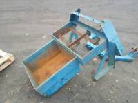 Two tractor weight frame box with a frame