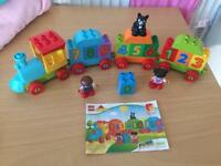 Complete like new lego duplo train set