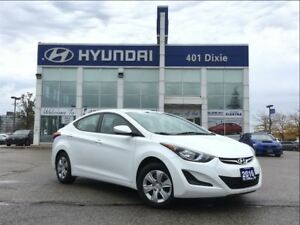 2016 Hyundai Elantra L|6 SPEED MANUAL|ONE OWNER|