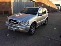 51 Mercedes ML500, FSH, Face Lift, Immaculate Condition