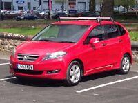 2007 (Sep 57) HONDA FR-V 2.2 i-CTDi ES - Hatchback 5 Dr - DIESEL - Manual - RED *12 MONTHS MOT/FSH*