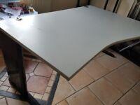 Light grey office desks top spec
