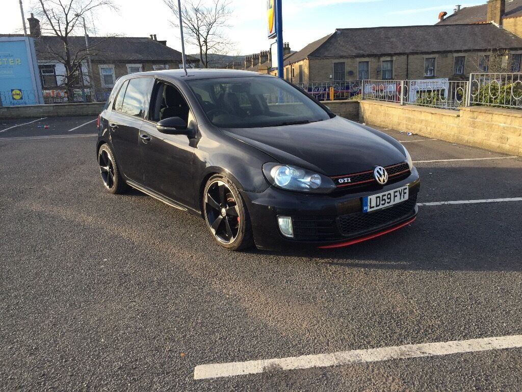 Vw Golf 16tdi Gti Replica 59 Reg Mk6 Head Turner Fvsh 1 Owner Full Conversion