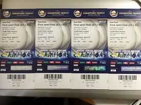 ICC Champions trophy first semi-final tickets