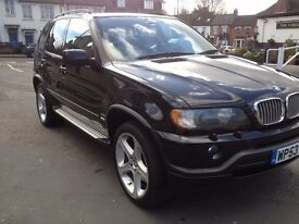 BMW X5 4.6is SUV , V8, LPG , CHEAP TO RUN, automatic , black leather interior, very low mileage