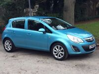 Vauxhall Corsa Active Ac Blue Petrol 1.2 - Low Mileage 62 Plate Car