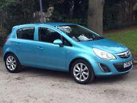 Vauxhall Corsa Active Ac Blue Petrol 1.2 - Low Mileage 62 Plate Car
