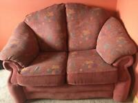 Free 2 seater sofa + chair