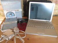 Mac Powerbook G4 - Cubase SE - USB - Midi interface - Sequencer