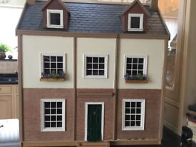 LARGE DOLLS HOUSE New With Lights