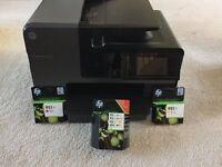 HP Officejet Pro 8620 Printer & INKS