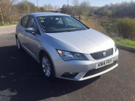 2014 Seat Leon 1.6 TDI SE 5 Door Hatchback 1 Owner Full Service History 60000 Miles Only PX Welcome