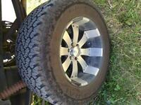 """Trade 20"""" rims and 35"""" tires for 18"""" rims and 35"""" tires"""