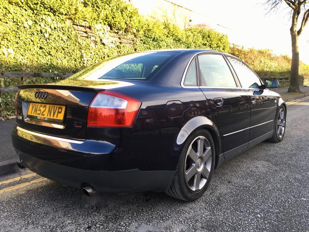 2003 Audi A4 3.0 Quattro SE Full Leathers 12 Months Mot 3 Keys