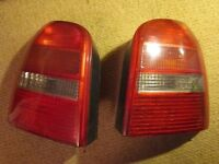 rear light covers for Audi A4 estate car