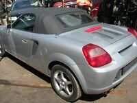 Toyota MR2 roadster vvti auto SMT 1794 cc W30 !!!!! BREAKING FOR SPARES / PARTS !!!!!